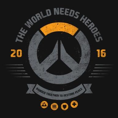 The World Needs Heroes