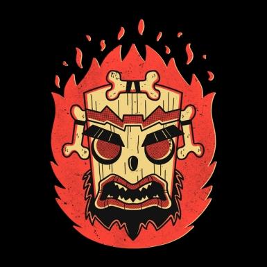 Retro Uka Mask